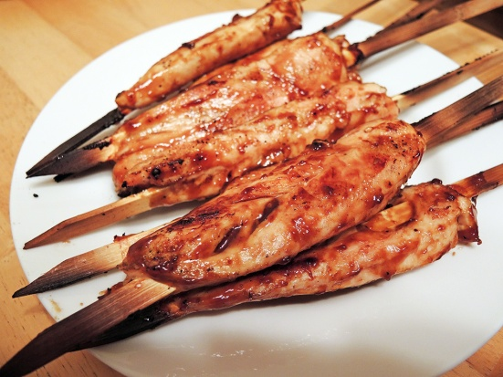 Man Fuel Food Blog - Teriyaki Glazed Chicken Skewers