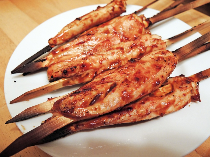 Man Fuel Food Blog - Teriyaki Glazed Chicken Skewers