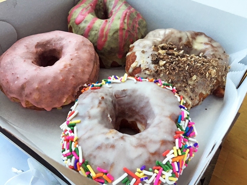 Man Fuel Food Blog - PVDonts - Providence, RI - 4 donuts