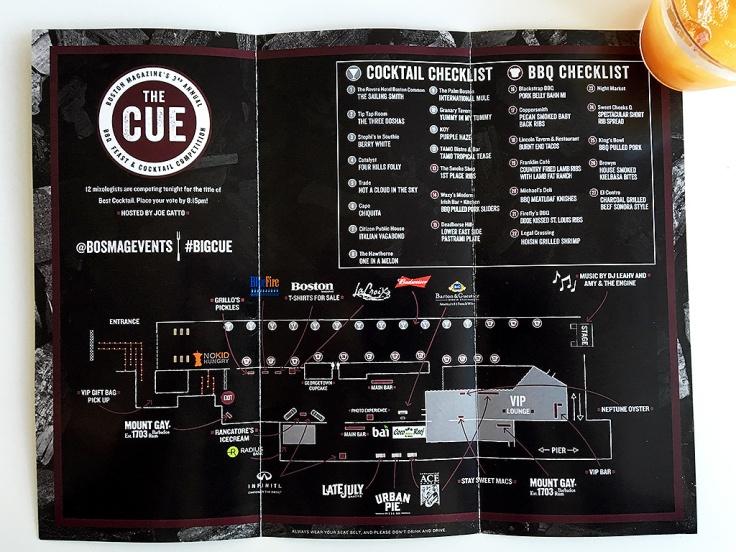 Man Fuel Food Blog - Boston Magazine The Cue - Event Checklist - Boston, MA