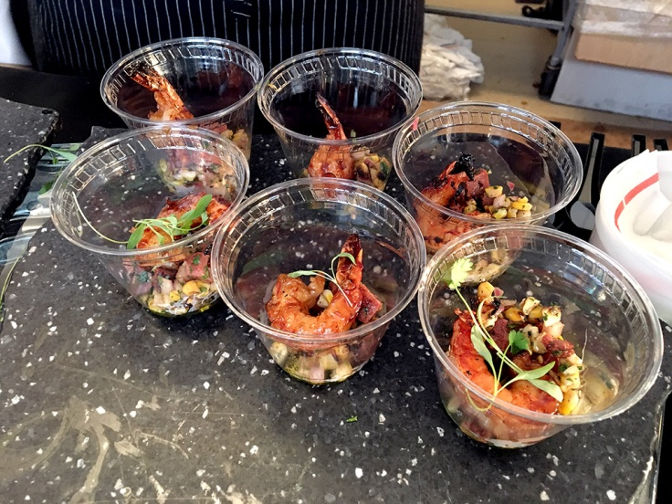 Man Fuel Food Blog - Boston Magazine The Cue - Legal Crossing - Hoisin Grilled Shrimp - Boston, MA