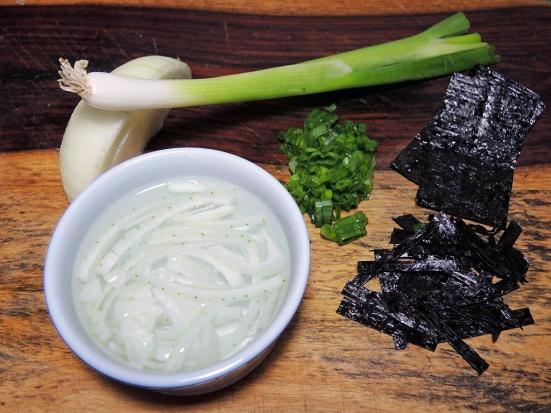 Man Fuel Food Blog - Poke Recipe - Garnish Ingredients