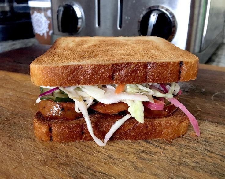 Man Fuel Food Blog - Preppy Pig BBQ - Warren, RI - Leftover Sausage