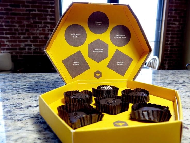 Man Fuel Food Blog - Gather Chocolate - Gather Chocolates Box Cover