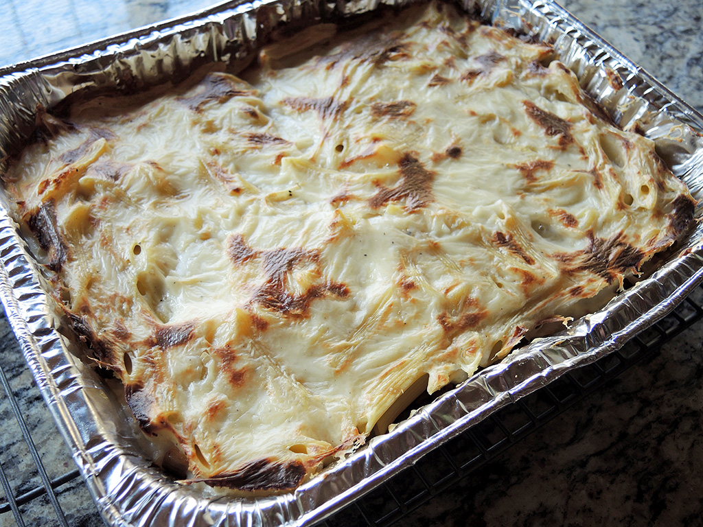 Man Fuel Food Blog - Macarona Bechamel or Pastitisio Recipe