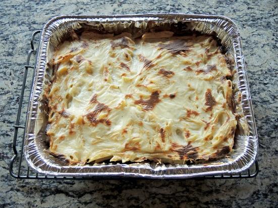 Man Fuel Food Blog - Macarona Bechamel or Pastitisio Recipe