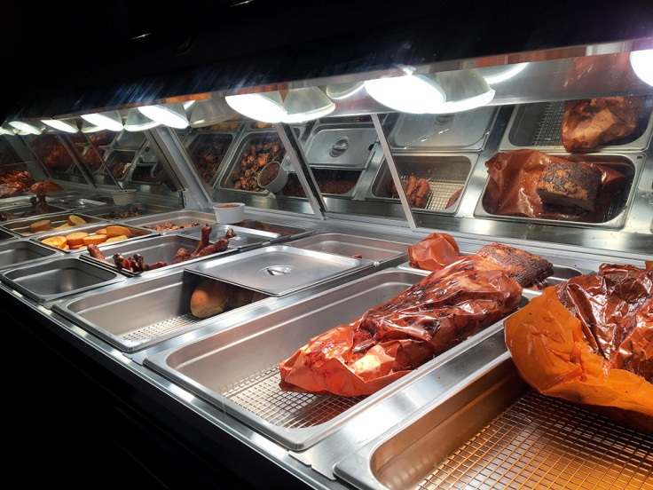 Man Fuel Food Blog - Durk's Barbecue - Providence, RI - Meat Station