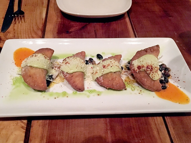 Man Fuel Food Blog - Red Fin Crudo - Providence, RI - Empanadas