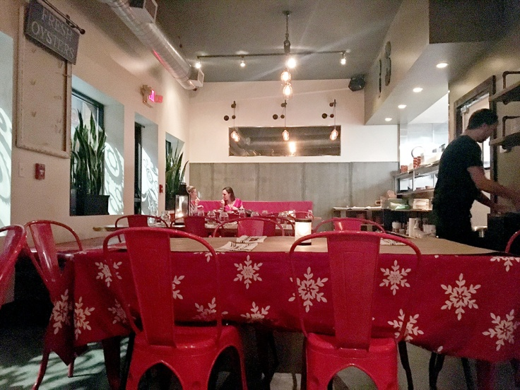 Man Fuel Food Blog - Red Fin Crudo - Providence, RI - Interior