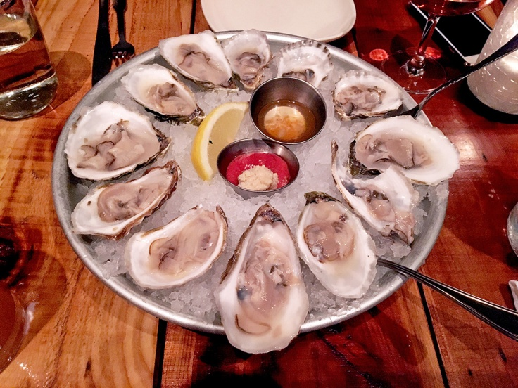 Man Fuel Food Blog - Red Fin Crudo - Providence, RI - Oysters