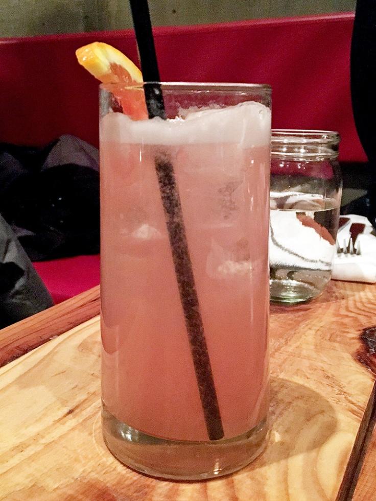 Man Fuel Food Blog - Red Fin Crudo - Providence, RI - Paloma Cocktail