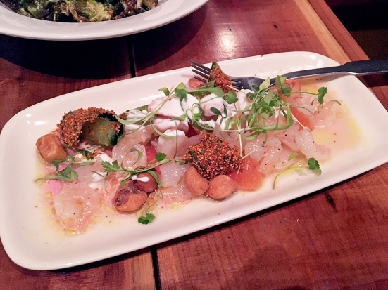 Man Fuel Food Blog - Red Fin Crudo - Providence, RI - Rock Shrimp Ceviche