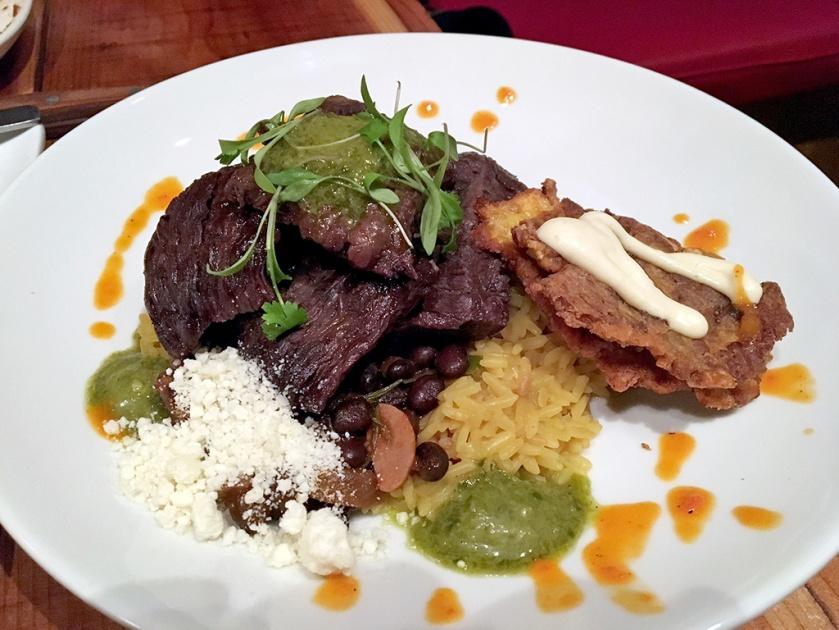 Man Fuel Food Blog - Red Fin Crudo - Providence, RI - Skirt Steak