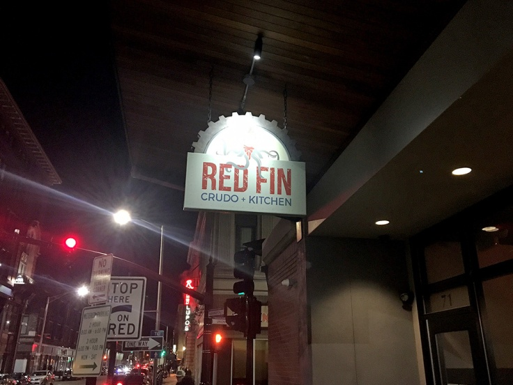 Man Fuel Food Blog - Red Fin Crudo + Kitchen Review - Providence, RI