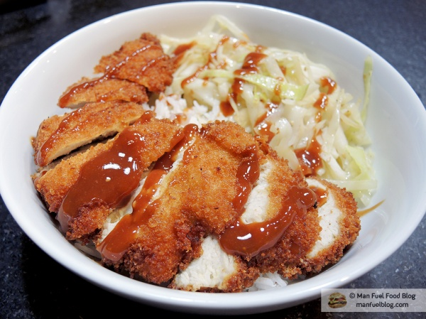 Man Fuel Food Blog - Chicken Katsu Recipe
