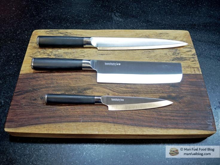 Man Fuel Food Blog - Kamikoto Knives Review
