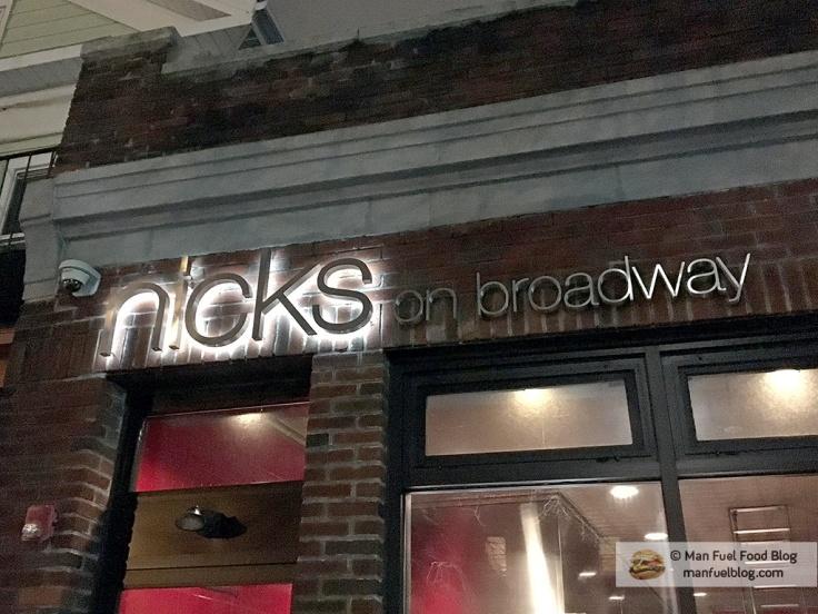 Man Fuel Food Blog - Nick's On Broadway - Providence, RI - Exterior
