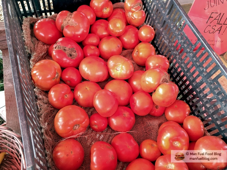 Man Fuel Food Blog - Brookwood Community Farm CSA - Tomatoes