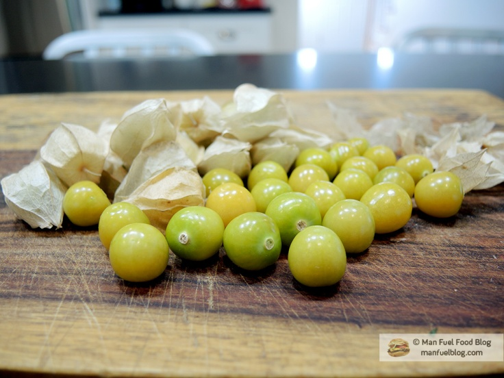 Man Fuel Food Blog - Peeled Husk Cherries