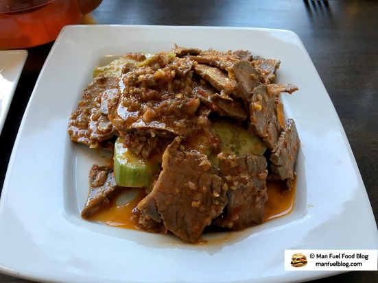 Man Fuel Food Blog - Jahunger - Providence, RI - Spicy Beef and Cucumbers