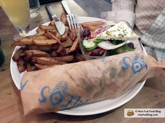 Man Fuel Food Blog - Kleo's - Providence, RI - Gyro
