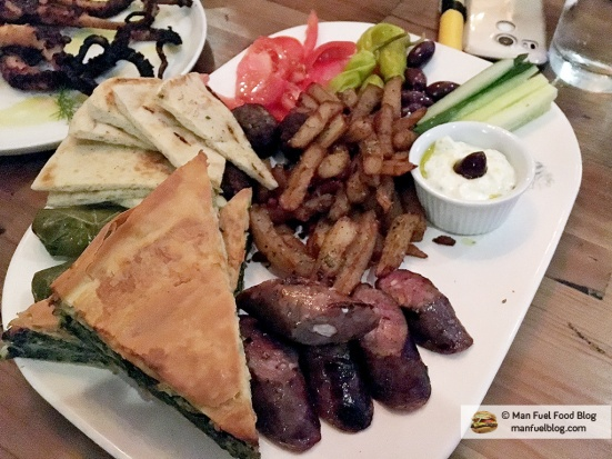 Man Fuel Food Blog - Kleo's - Providence, RI - Hot Mezze Plate