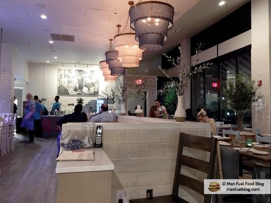 Man Fuel Food Blog - Kleo's - Providence, RI - Interior