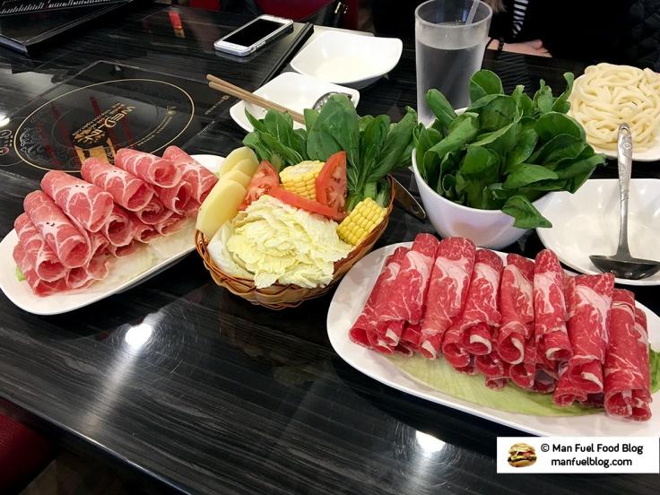 Man Fuel Food Blog - La Mei Hot Pot - Providence, RI - Hot Pot Ingredients