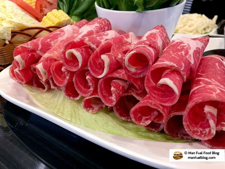 Man Fuel Food Blog - La Mei Hot Pot - Providence, RI - Rolled Beef