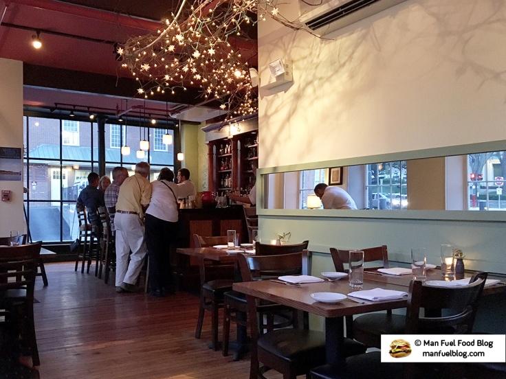 Man Fuel Food Blog - New Rivers - Providence, RI - Interior