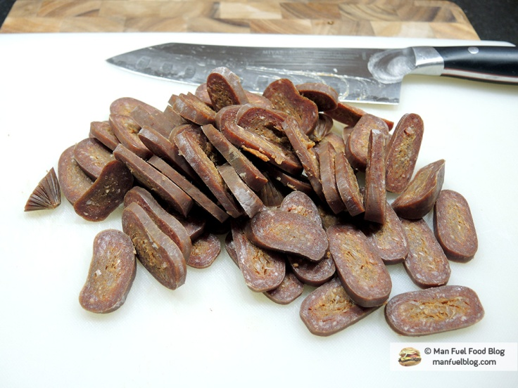 Man Fuel Food Blog - Soujouk Recipe - Chopped Sausage