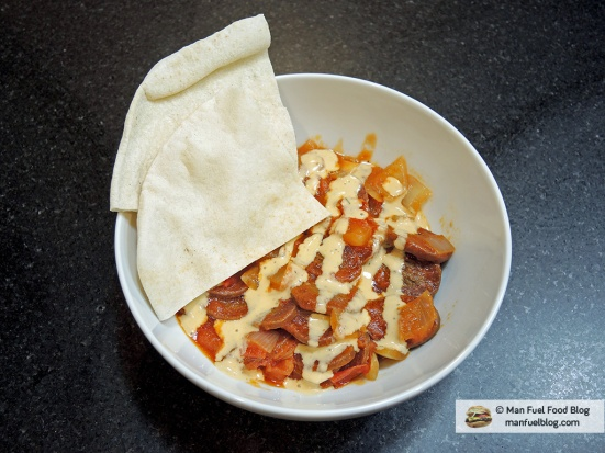 Man Fuel Food Blog - Soujouk Recipe - with Chipotle Sauce