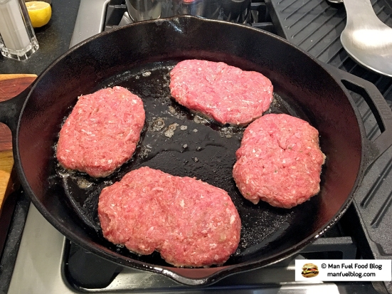 Man Fuel Food Blog - Salisbury Steak Recipe - Cooking Steaks