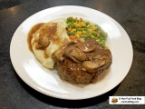 Homemade Salisbury Steak Recipe with Mushroom Gravy