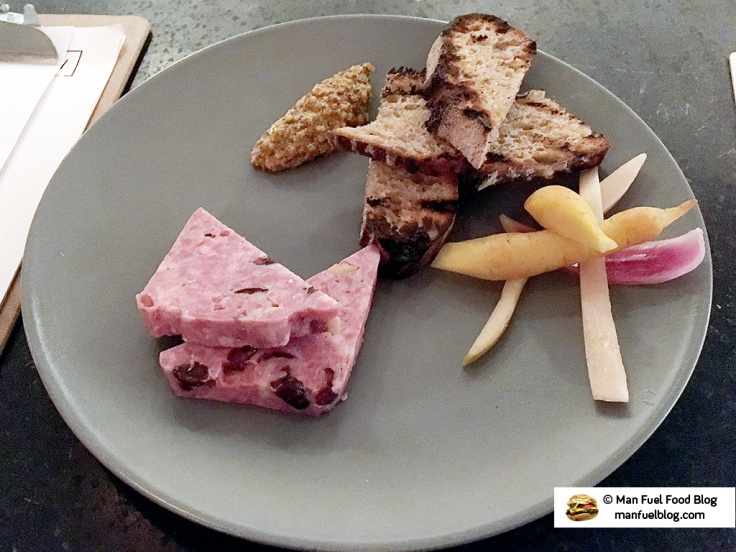 Man Fuel Food Blog - Bayberry Beer Hall Review - Pork Terrine