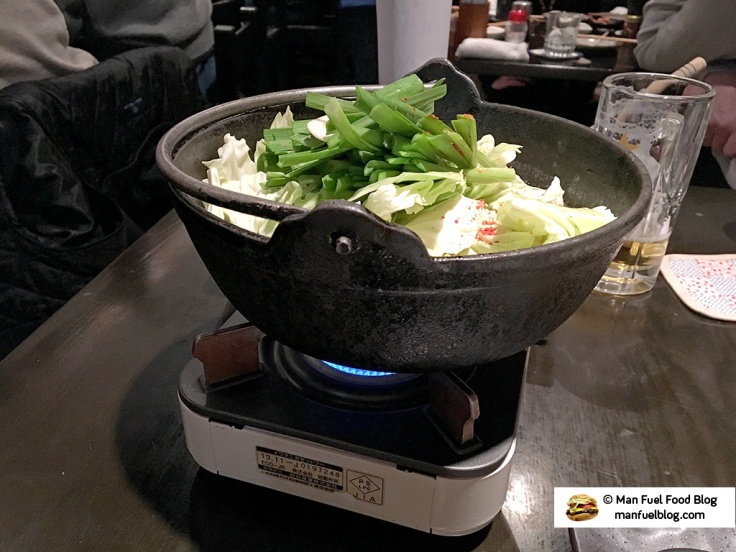 Man Fuel Food Blog - Kurara - Koenji, Japan - Hot Pot Heating Up