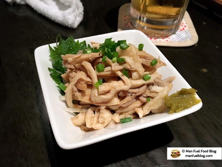 Man Fuel Food Blog - Kurara - Koenji, Japan - Offal