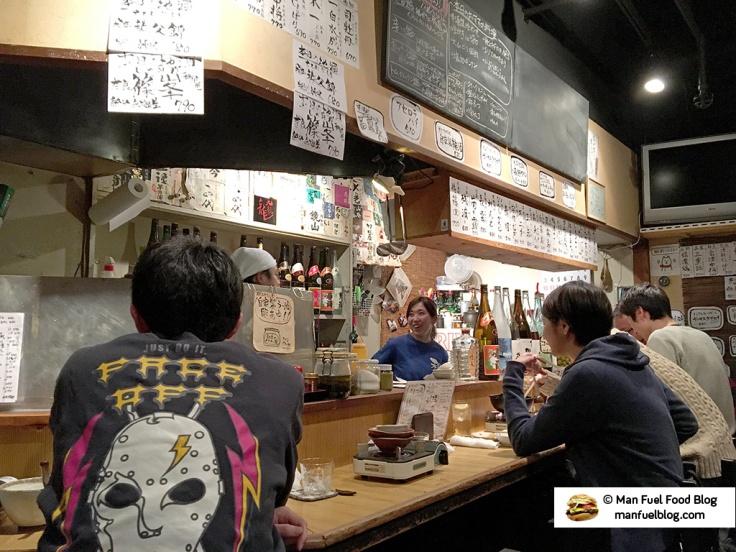 Man Fuel Food Blog - Kurara - Koenji, Japan - Restaurant Interior