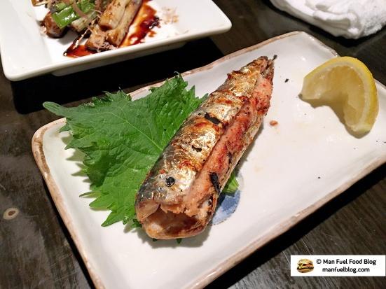 Man Fuel Food Blog - Kurara - Koenji, Japan - Sardine