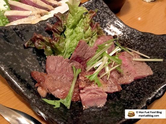 Man Fuel Food Blog - Miroku Restaurant - Koenji, Japan - Beef