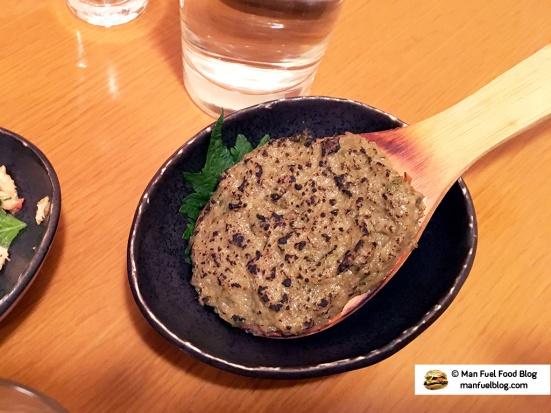 Man Fuel Food Blog - Miroku Restaurant - Koenji, Japan - Charred Greens