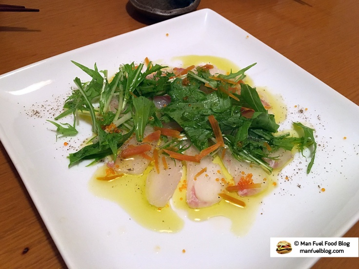 Man Fuel Food Blog - Miroku Restaurant - Koenji, Japan - Fish and Olive Oil