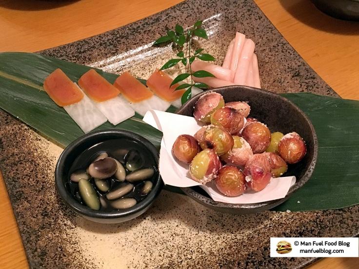 Man Fuel Food Blog - Miroku Restaurant - Koenji, Japan - Gingko
