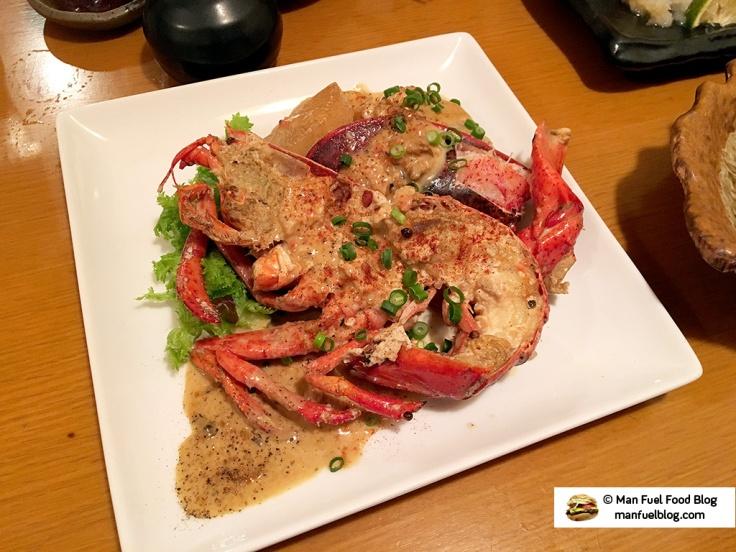 Man Fuel Food Blog - Miroku Restaurant - Koenji, Japan - Lobster