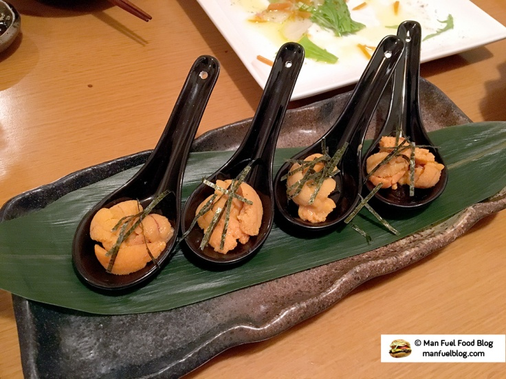 Man Fuel Food Blog - Miroku Restaurant - Koenji, Japan - Sea Urchin