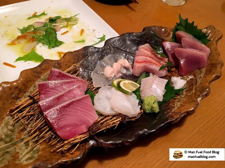 Man Fuel Food Blog - Miroku Restaurant - Koenji, Japan - Sushi