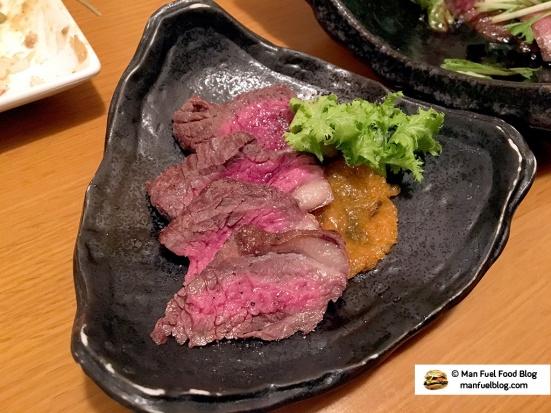 Man Fuel Food Blog - Miroku Restaurant - Koenji, Japan - Venison