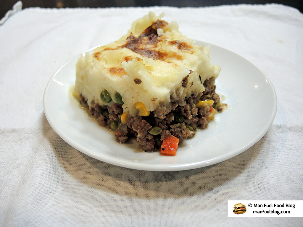 Man Fuel Food Blog - Cottage Pie Recipe