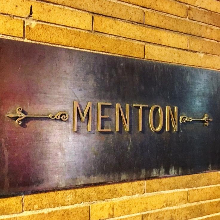 Man Fuel Food Blog - Menton Restaurant - Boston, MA