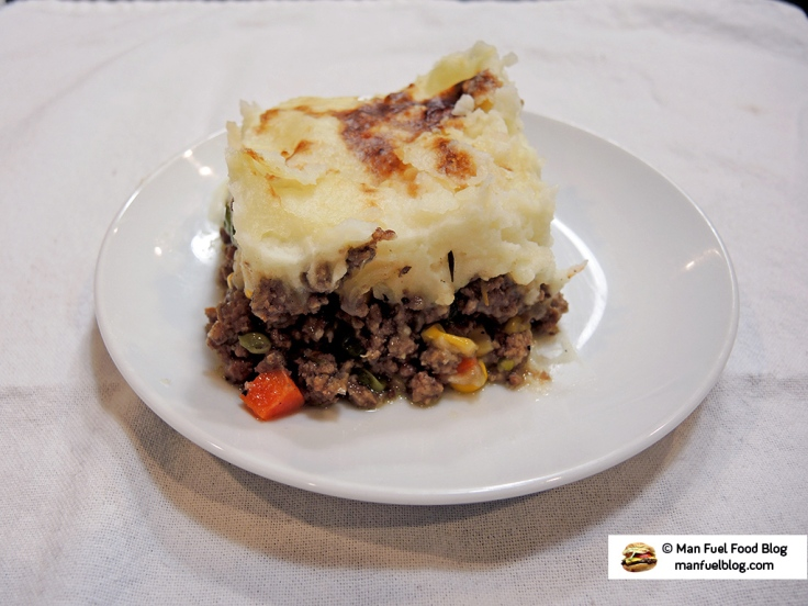 Man Fuel Food Blog - Shepherds Pie Recipe